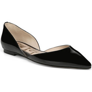 NWOT Sam Edelman Rodney Black Patent Leather Flats